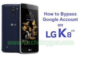 How to bypass Google Account on LG K8
