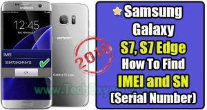 Samsung Galaxy S7, S7 edge - How To Find IMEI and SN (Serial Number), IMEI number for Samsung S7, S7 edge, SN number, Serial Number, S7 edge, S7, Samsung Galaxy, 2016