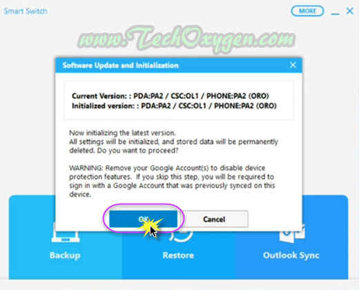Samsung S5 Neo Update and Install Firmware