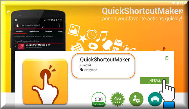[Download] Quick Shortcut Maker APK For Android Devices 2017
