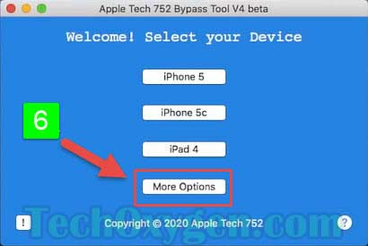 Apple Tech Bypass Tool V4