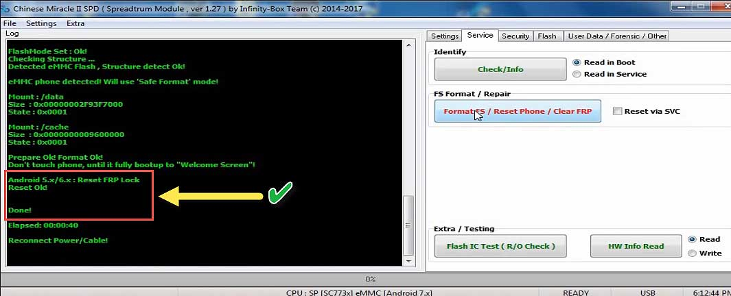 I8i Pro FRP Bypass Qmobile FRP Cm2 Software [100% WORKS]