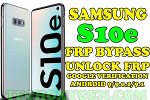 Samsung S10e FRP Bypass Without SIM