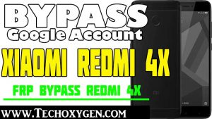 Redmi 4x Google Account Bypass MIUI 11