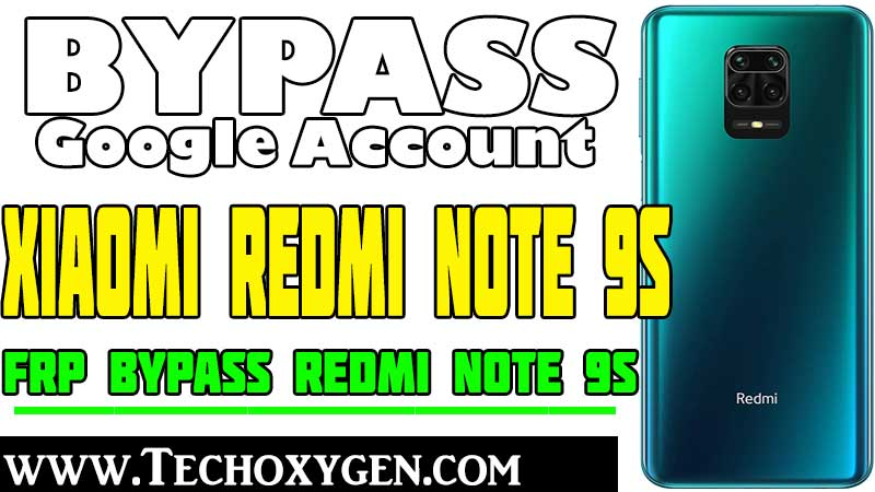 Bypass FRP Xiaomi Redmi Note 9s MIUI 11 Remove FRP Xiaomi Android 10